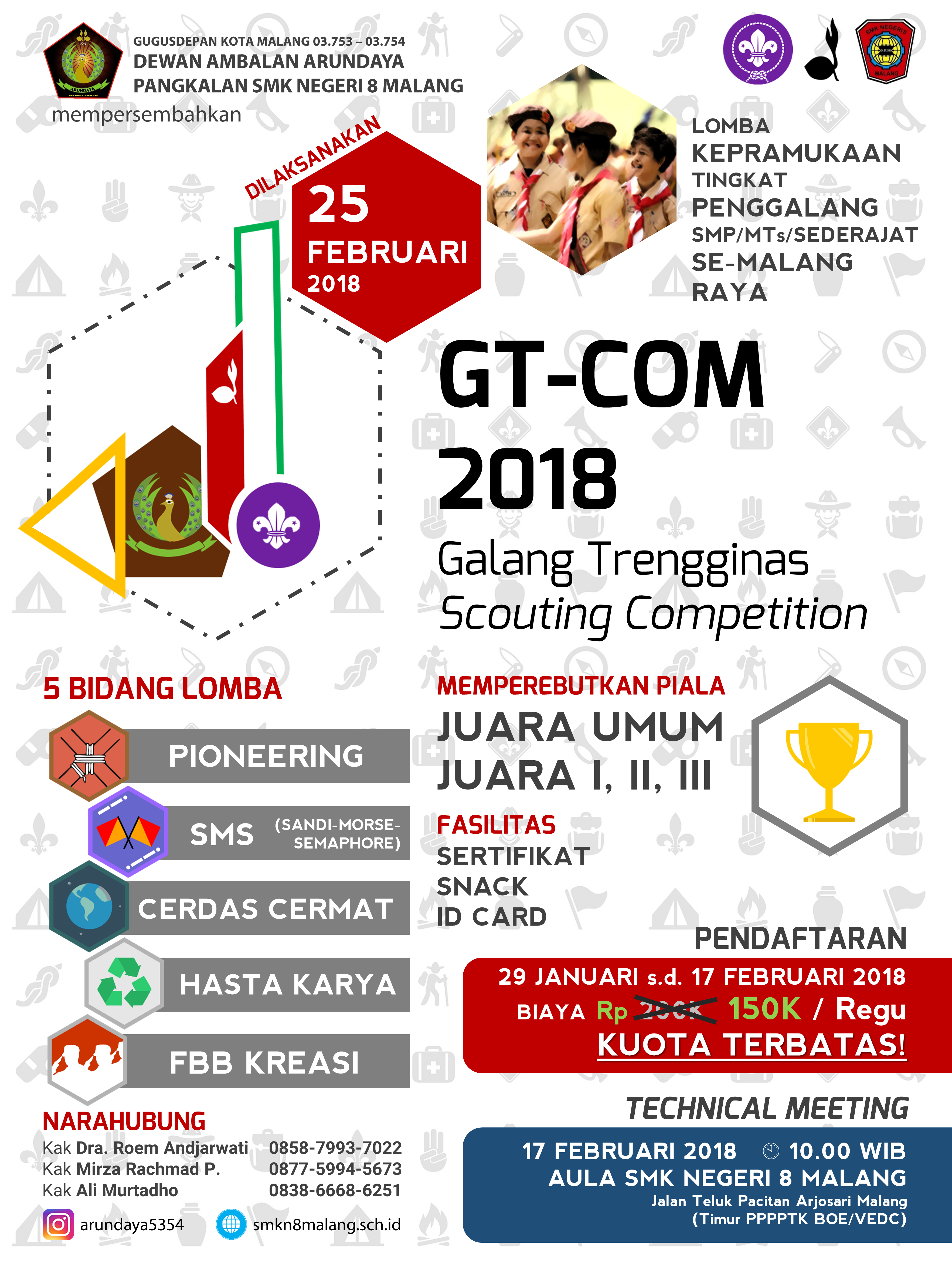 Galang Trengginas Scouting Competition 2018